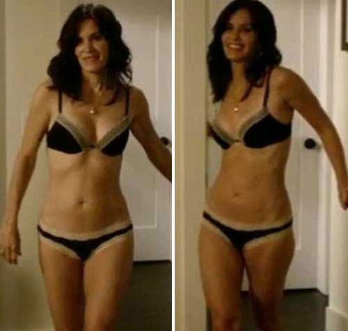 Courteney Cox Lingerie Pics