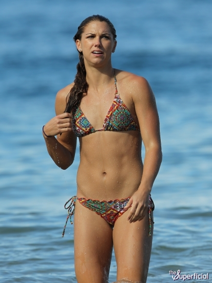 Alex Morgan Sexy Bikini