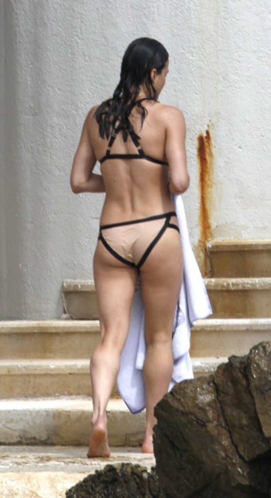 Michelle Rodriguez Ass Bikini