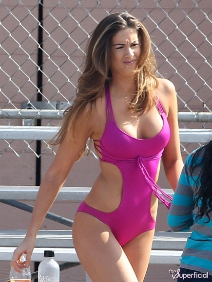 Katherine Webb Cleavage