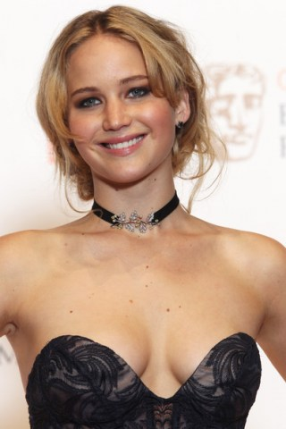 Jennifer Lawrence Cleavage