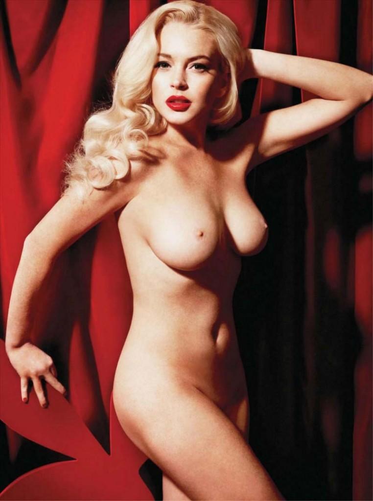 Lindsay Lohan Playboy Pics