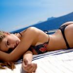Nicole Eggert Thong