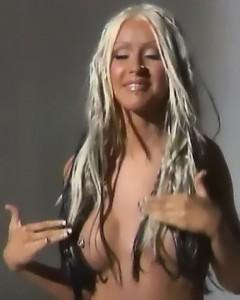 Christina Aguilera Tits