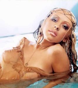 Christina Aguilera Breasts