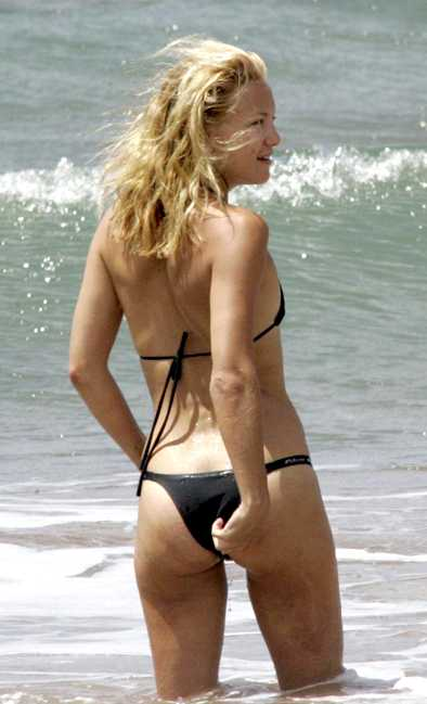 Kate Hudson Thong